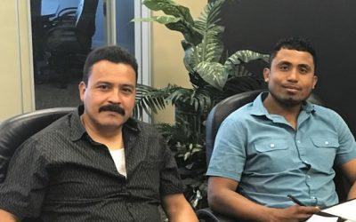 Jesus Reyes and Roberto Santiago