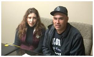 Jose Manuel y Raquel Barrios
