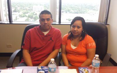 Rogelio Flores y Elizabeth Gutiérrez