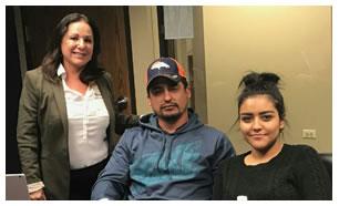 Jorge Gonzalez y Familia