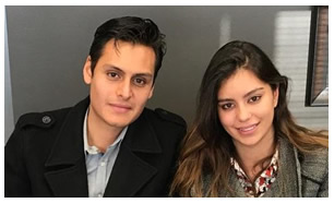 Víctor y Camila Bernal