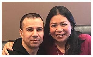 Donaldo y Esperanza Diaz