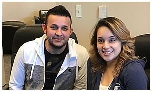 Alfredo y Joanna Cadena Delgado