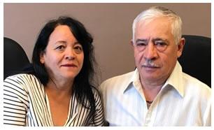Luz y Rogelio Arias
