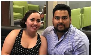 Felipe Carrillo y Brenda Salas