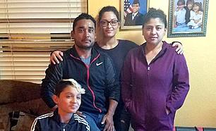 Mario Ramos y Familia