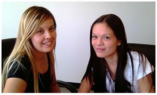 Roxana y Jennifer Simental