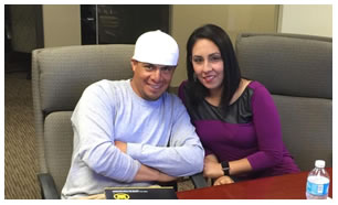 Ana y Sergio Espinoza