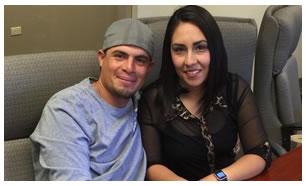 Sergio y Ana Espinoza