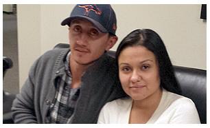 Vanessa y Miguel López