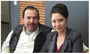 José y Neiyma Olivas